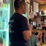 旗の台飲み屋「ぶち」さんで西岡酒造の島村兄貴を囲む会に行ってきました