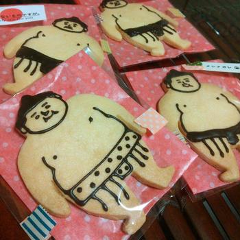 お相撲さんクッキー&クッキー型♪