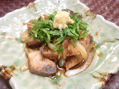 かつお(鰹)と玉ねぎの生姜焼き(レシピ付)