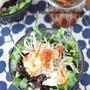 さっぱりヘルシー♡「ひじきと豆腐と貝割れ菜のサラダ*梅ドレッシング」~ダイエット・夏バテ対策にも◎