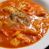 ソーセージとキャベツのチリトマトシチュー