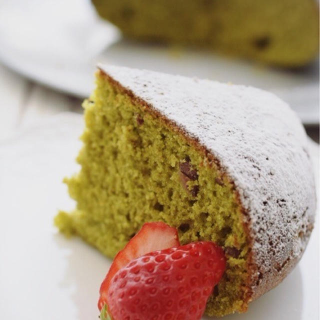 【世界農業遺産応援レシピ】炊飯器で簡単!抹茶ケーキ