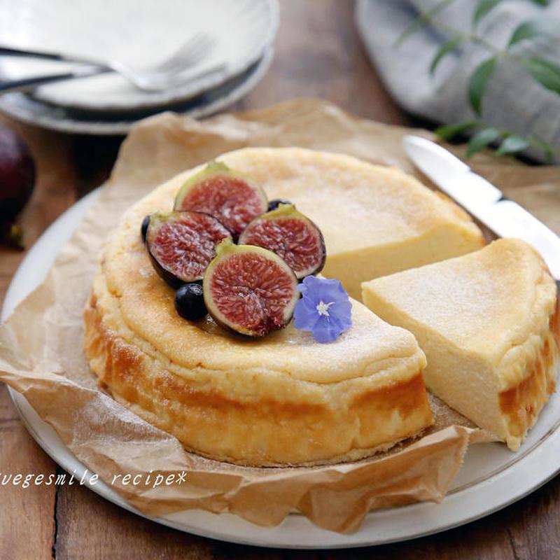 さっぱりとカロリーオフ♪カッテージチーズケーキの作り方