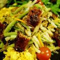 【花椒で決める!鰻と塩コンブと野菜のサラダ】スタミナ満点の夏サラダです♪旨い!!