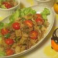 合挽き肉とピーマンのトマトバジル炒め すだち風味・フーディストアワード2020