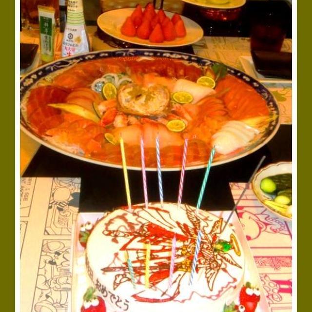 上孫の誕生日ファミリーディナー