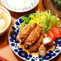 809円*豚と長芋の照り梅ロール定食【酒蔵びらきだ~】