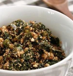 色々使える♪韓国海苔とくるみのふりかけのレシピ