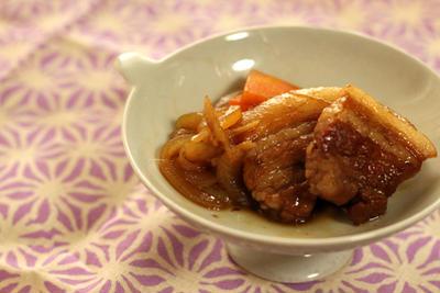 ☆★☆豚ばら肉のバルサミコ角煮☆★☆
