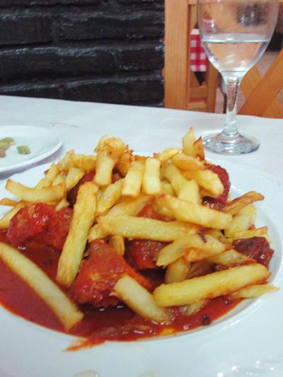 豚肉のトマト煮込み/Magro con tomate