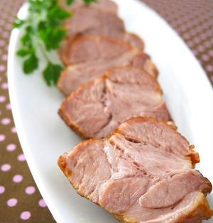 炊飯器でスイッチぽん♪パイナップル煮豚@フルーツコラボレシピ