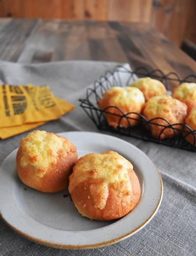 30分で魔法のパン*サクサク♪クッキーパン~卵不使用~