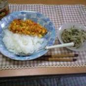 豆腐でドライカレー
