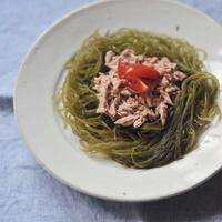 海藻とツナのサラダ(まかない)