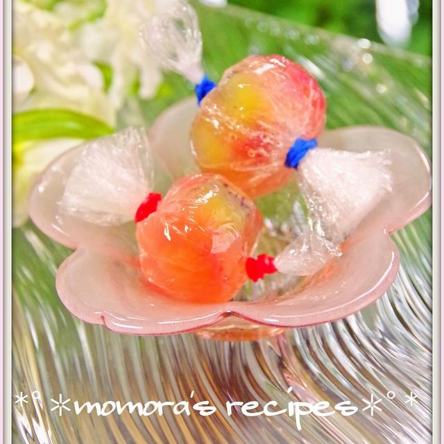 ヤフートップページ掲載頂きました「簡単お弁当デザート♪苺キャンディーゼリー」&お茶会のお招き