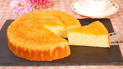 ホットケーキミックスで作るベイクドチーズケーキ
