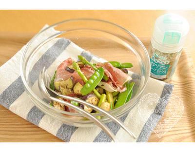 * イタリアンハーブミックス「炒め野菜の冷製サラダ」 *