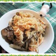 【きのう何食べた?炊き込みご飯作ってみた】鮭とごぼうと舞茸のドラマレシピ
