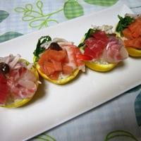 柚子の香り寿司