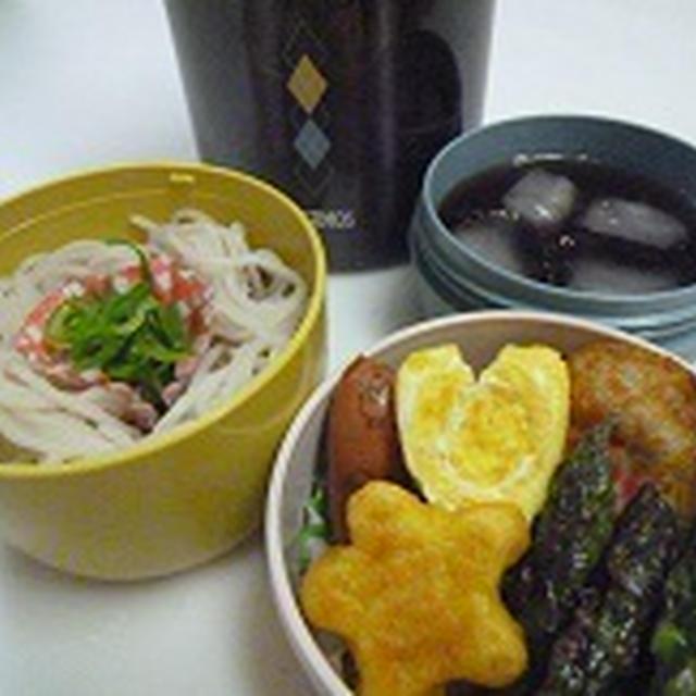 ざるそば弁当~~♪♪ 飾り巻き寿司レッスン6月 カエル