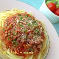 簡単美味しいトマト缶deミートソース♪
