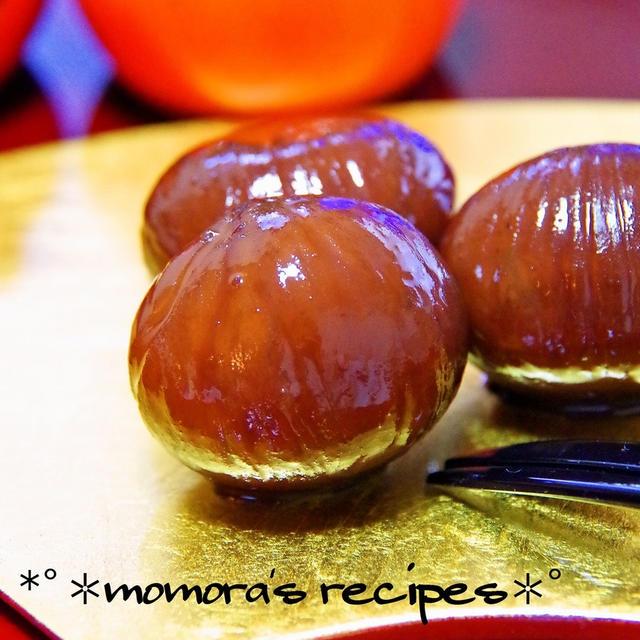 クックパッドニュース掲載お菓子/秋の黒い宝石♡簡単基本の栗の渋皮煮&お仕事で大阪へ