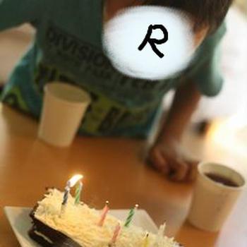 おちびのRYU 7歳の誕生日