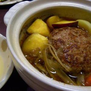 冬にぴったり!「土鍋×ハンバーグ」で熱々おいしいおかずを作ろう♪