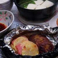 「包み焼き黒ホイルワイド」 de 柚子醤油バター焼き