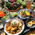 *意外な食材でタイカレーの縁側ランチ* by シロさん
