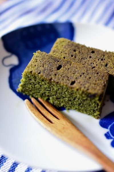 豆腐パウダーで抹茶パウンド
