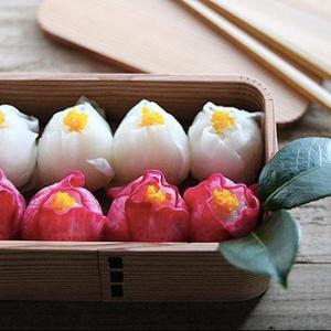 本物みたい♪お弁当にもオススメの「#椿手毬寿司」