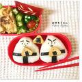 どすこーい弁当♡#お相撲さんおにぎり  #たまごやき    #おにぎり弁当