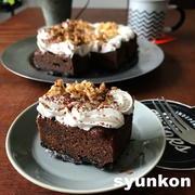 自信作【レンジで簡単!】ザクザク濃厚ショコラケーキ*