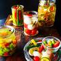 梅雨仕込み常備菜 簡単お手軽 可愛い! 夏野菜で 4種のピクルスたち  pickles marine  pickled mariner - スパイス大使 -