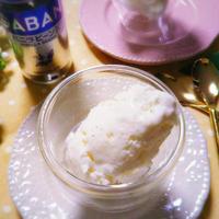 【レシピ】低糖質!バニラが香るヘルシーチーズアイスクリーム