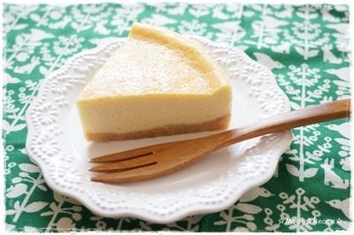 レモンシナモンのチーズケーキ