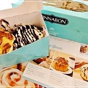 秘伝のレシピで作られる世界で最も有名なシナモンロールだって♪*Cinnabon*シナボン♪