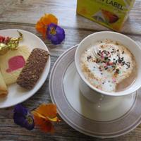 リプトンで♡シナモン香る♡カラフルなチョコソイミルクティー♪