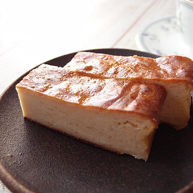 なかしましほレシピのチーズケーキ