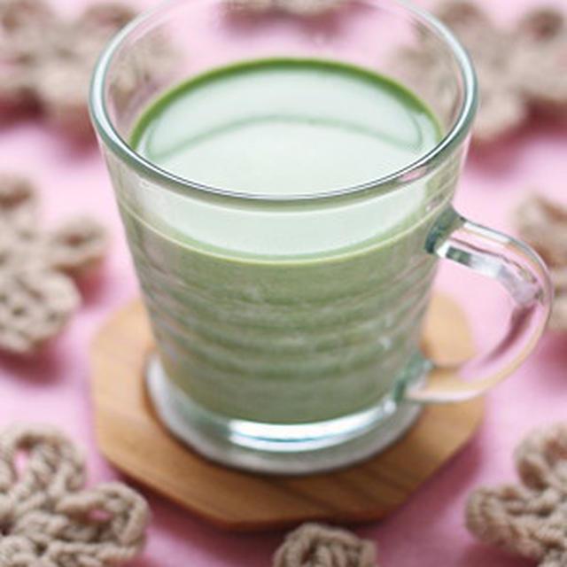 勝て菌&美肌 ほっこり酒粕抹茶ミルク