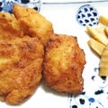 『タラの竜田揚げ』『マカロニと白菜とシーチキンのシチュー』