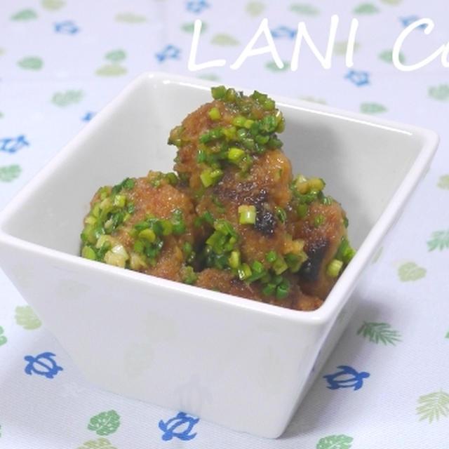 豆腐唐揚げの油淋鶏風