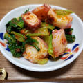青梗菜のラー油和えのレシピ
