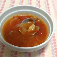 アサリの野菜スープ