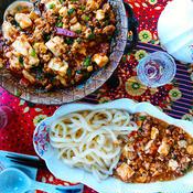 四川風麻婆豆腐 と 甘口マーボー豆腐
