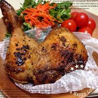 お家でできる!簡単 鶏モモ肉のコンフィ