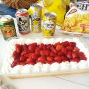 父の日メニューの記録など《お酒とケーキとライターケース》