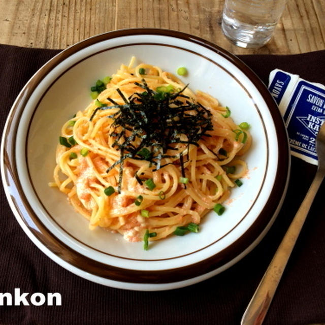 【簡単!!パスタ】王道のたらこスパゲッティ