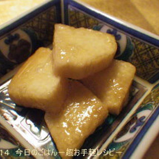 山いもの三杯酢漬 ビニール袋で(^^ゞ
